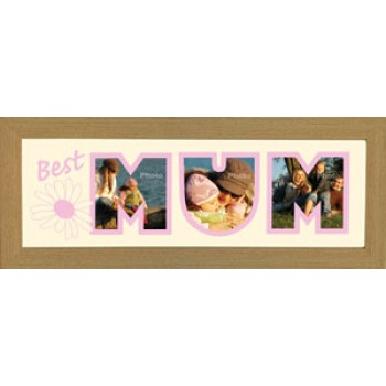 Best Mum Photos in a word Framed
