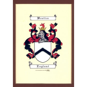 Computer Produced Coat of Arms