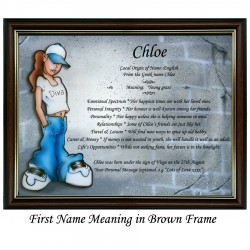 First Name Meaning with Diva background