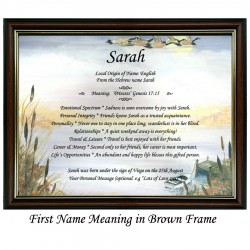 First Name Meaning with Geese background
