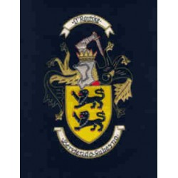 """Coat of Arms & Crest Large Embroidery (14"""" x 11"""")"""