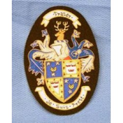 Lovely Blazer Badge Embroidery