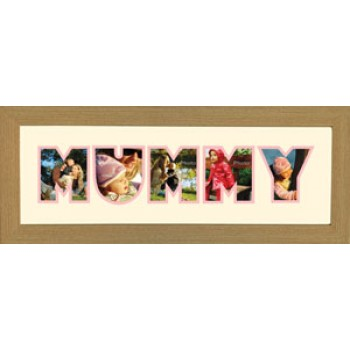 Mummy Photos in a word Framed