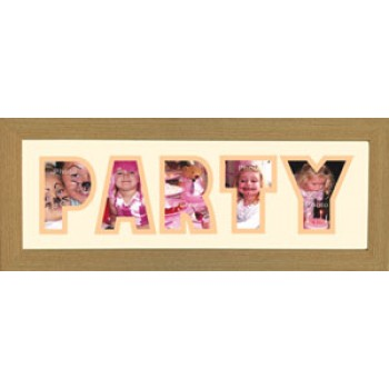Party Photos in a word Framed