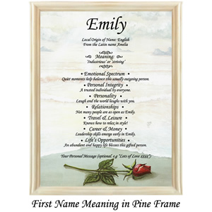 first name meaning